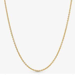 "Pandora Shine Classic Cable Chain Necklaces 17.7"""
